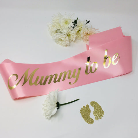 Baby Shower Sash | Mommy To Be Sash | Mom To Be Sash