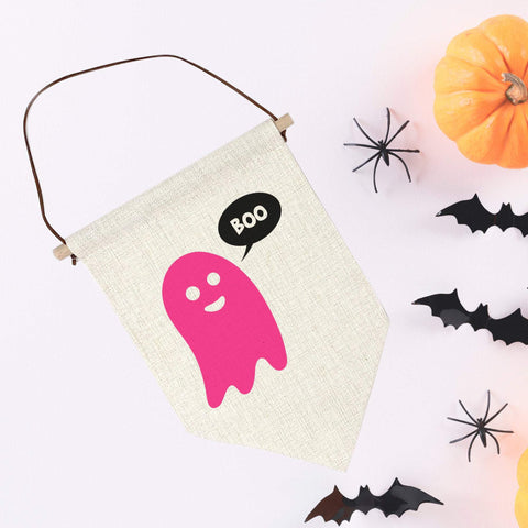 Boo! Cute Halloween Party Decor. Halloween office or home decor.