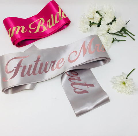 Bridal Sash | Future Mrs. Sash | Bachelorette Party