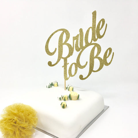 Bride To Be Cake Topper Bridal Shower Cake Decor