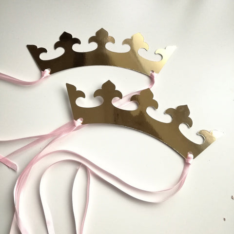 Crowns as Party Favors