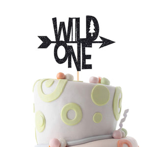 First birthday cake topper. Wild one party decor. Arrow Cake Topper.