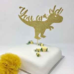 Funny You Are Old Cake Topper. Funny Birthday Ideas