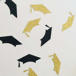 Graduation Cap Confetti. 30 Pieces