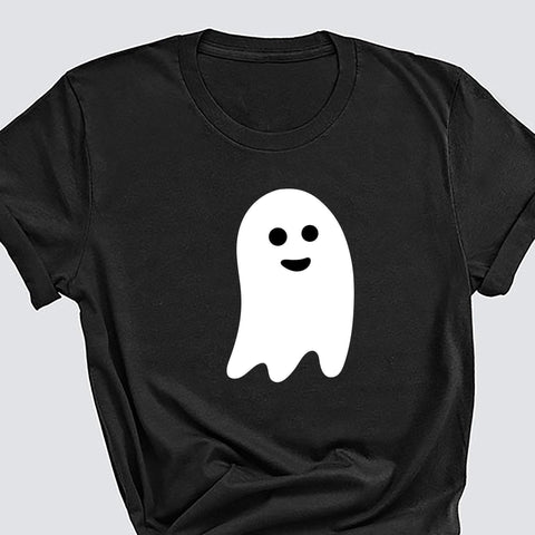 Halloween Costume, Halloween Ghost T-Shirt, Unisex Adult Sizes