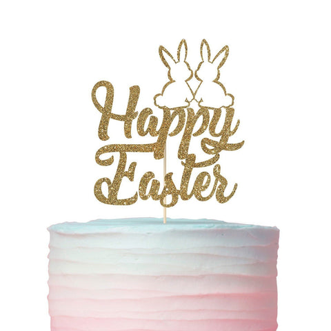 Happy Easter Cake Topper, Easter Decoration, Easter Party Decor