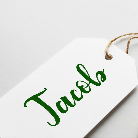Name gift tag. Personalised printed gift tag for Christmas, Birthdays, for any occasions