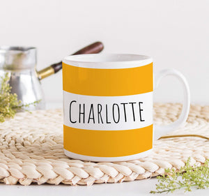 Name mug, Personalised Christmas gift for him or her , Corporate gift
