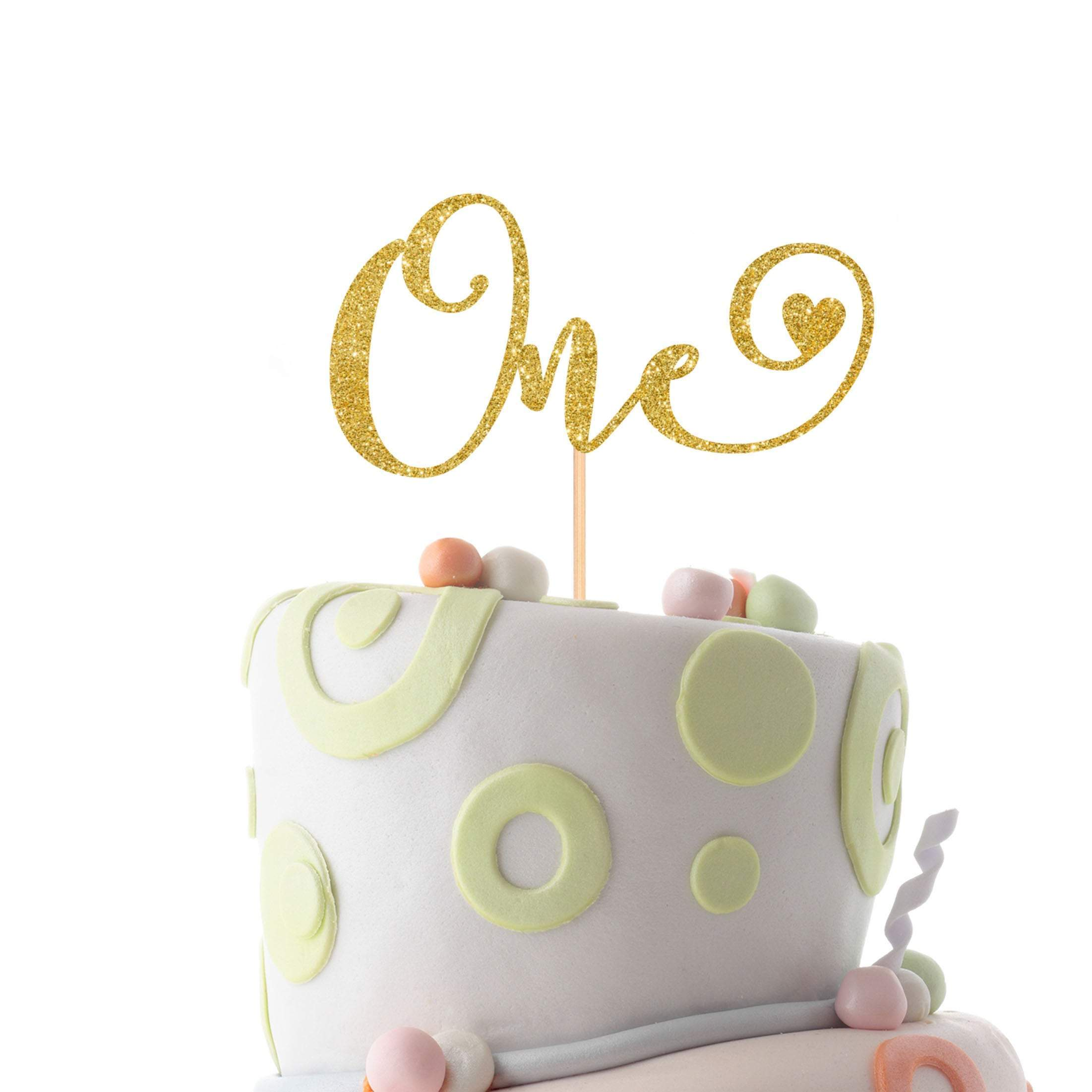 Brilliant One Cake Topper First Birthday Cake Topper First Birthday 1St Personalised Birthday Cards Paralily Jamesorg