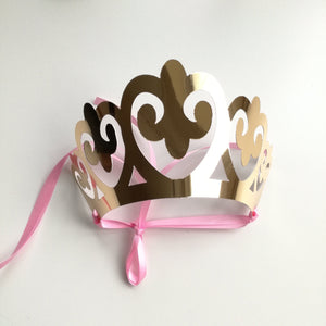 Princess Crowns as Party Favors