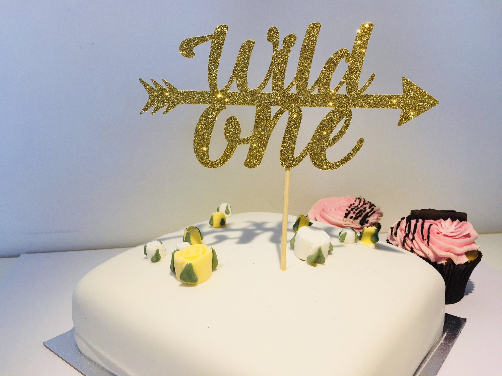 Wild One Cake Topper First Birthday Party Decoration