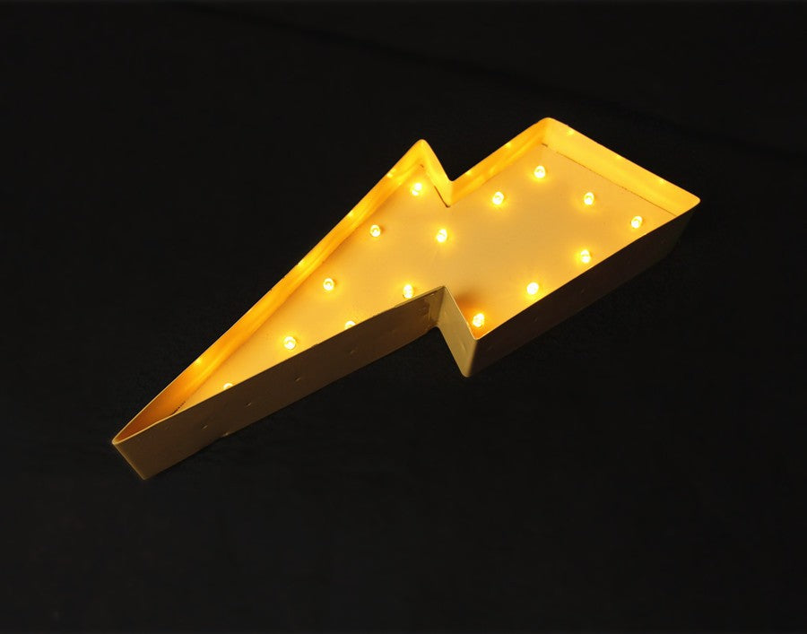 LED Lightning Bolt Lamp