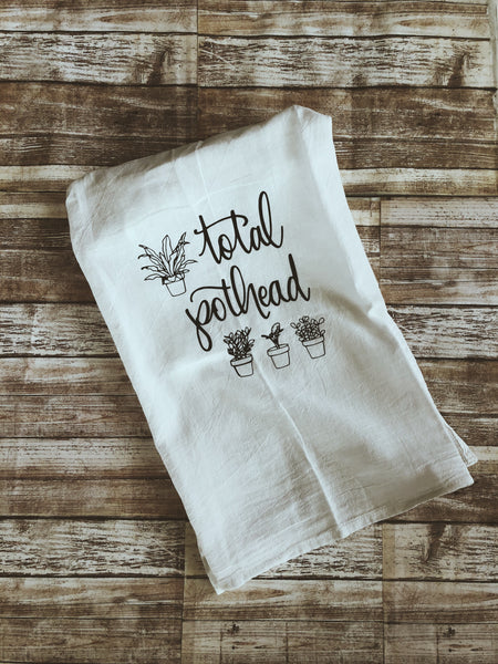 Total Pothead Kitchen Towel