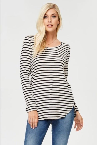 Casper Striped Top