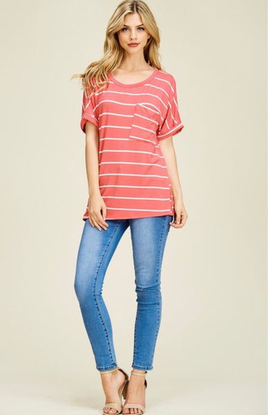 Blair Striped Tee