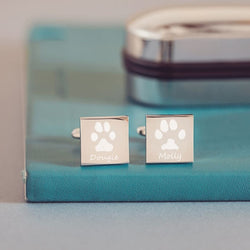 Pawprint Cufflinks