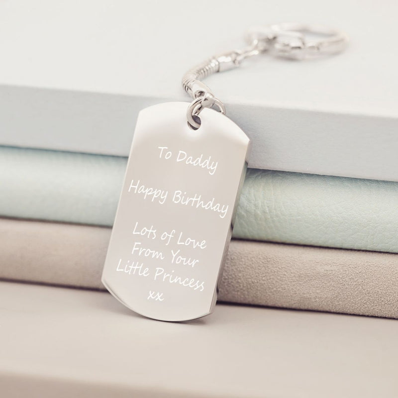 Personalised Message Keyring