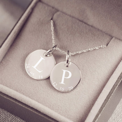 Always Together Initial Necklace