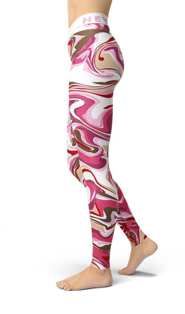 Curvy Bottom Ms Angie Yoga Leggings