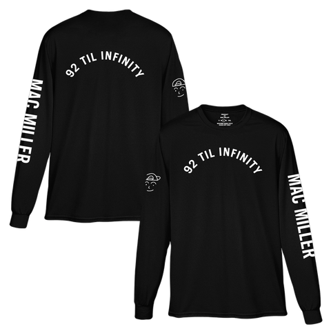 92 TIL INFINITY LONG SLEEVE TEE - Mac Miller