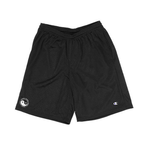 YIN YANG MESH SHORTS - BLACK - Mac Miller