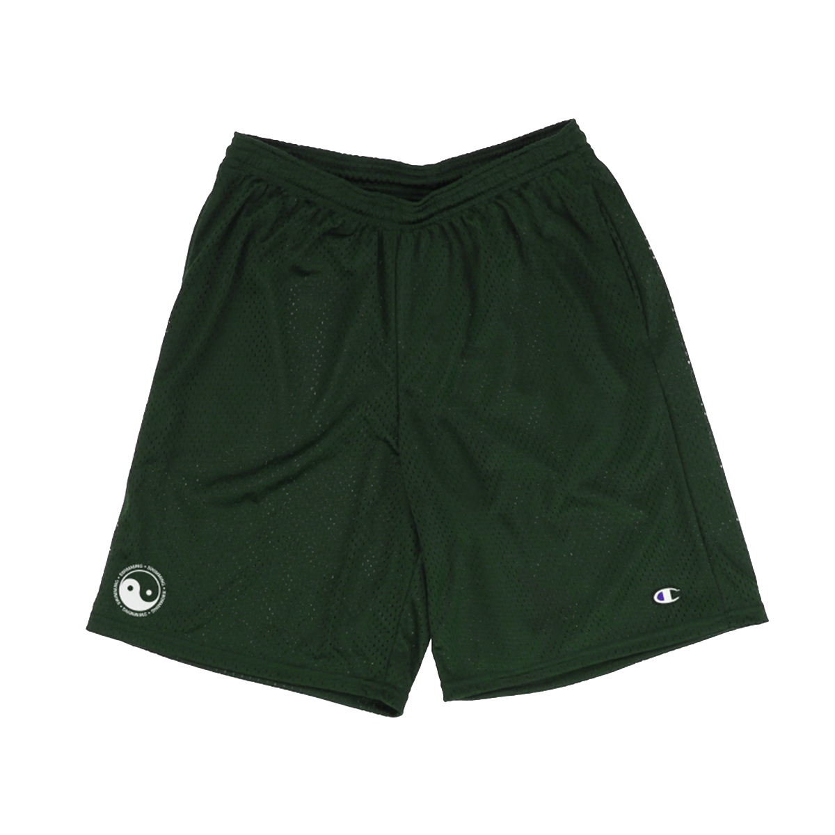 YIN YANG MESH SHORTS - GREEN - Mac Miller