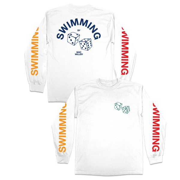 SWIMMING DICE LONG SLEEVE - Mac Miller