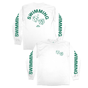 SWIMMING DICE LONG SLEEVE - GREEN - Mac Miller
