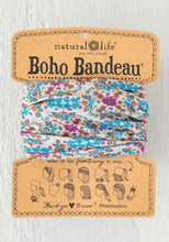 Boho Bandeau Grey Flower Stamp