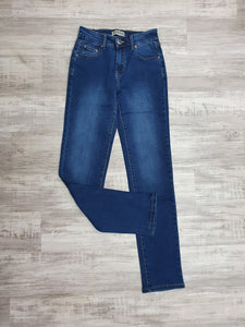 Wakee Straight Leg Jeans Denim