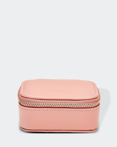 Suzie Jewellery Box Dusty Pink