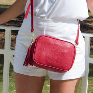 Ruby Sports Cross Body Bag Red