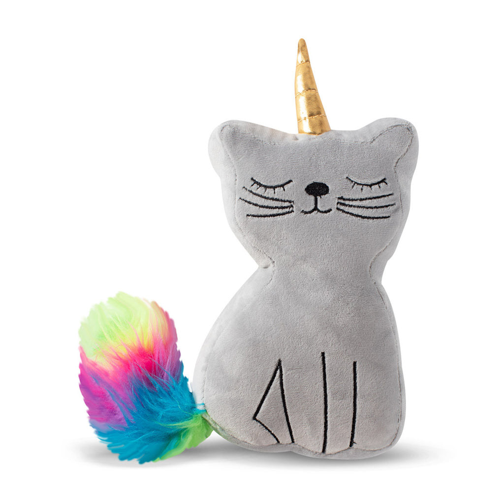 Fringe Studio Caticorn Plush Dog Toy