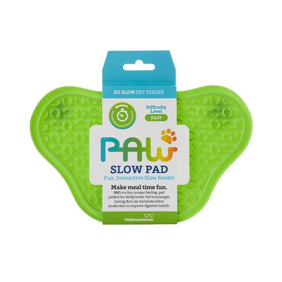 PAW Lick Pad Slow Feeder & Anti-Anxiety Food Mat - Green