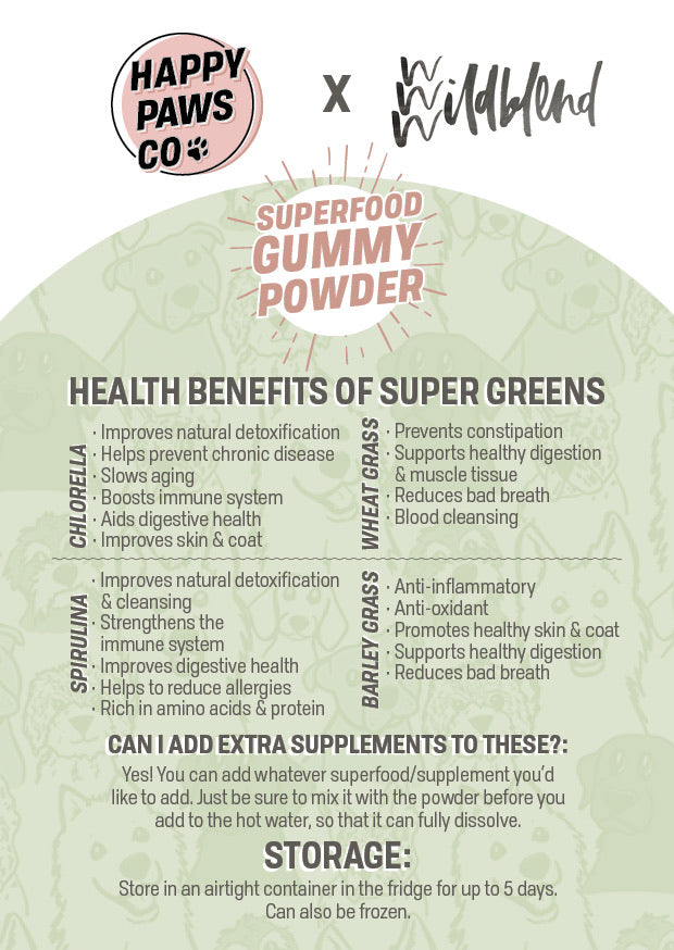 DIY Superfood Gummy Powder - Super Greens
