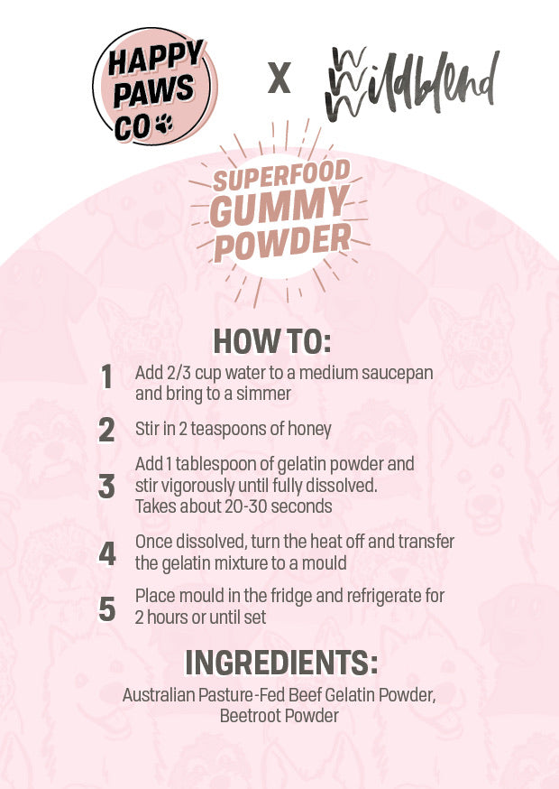 DIY Superfood Gummy Powder - 3 Flavour Bundle