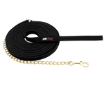 50' Cotton Lunge Line with Hand Loop and Brass Chain - 5830-50-CH