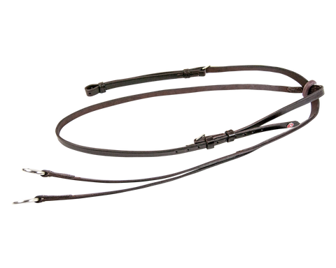 Leather Draw Reins With Rope 8006 Rp The Walsh Company Inc