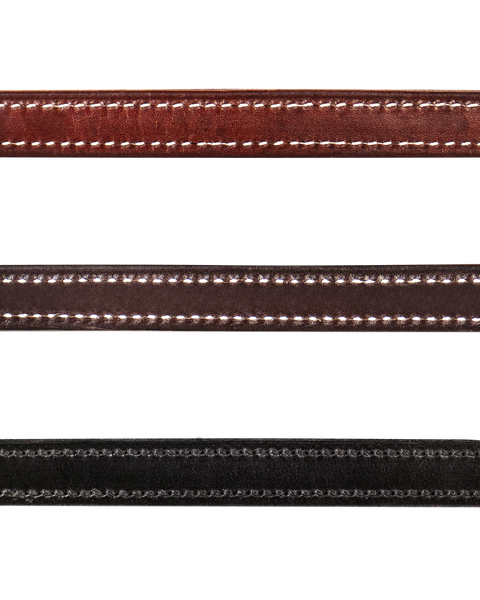 Leather Lead with Snap - 58017