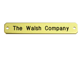 Large Engraved Nameplate - N-LARGE