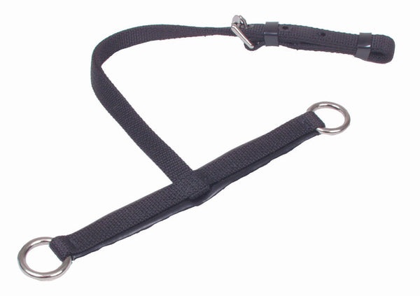 Nylon Humane Jaw w/ Throat Strap - 1350