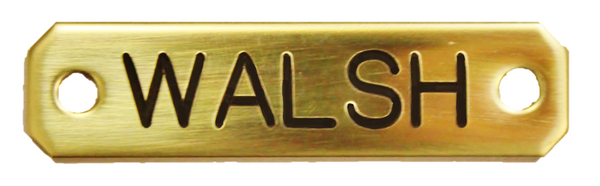 Dog Engraved Nameplate - N-DOG