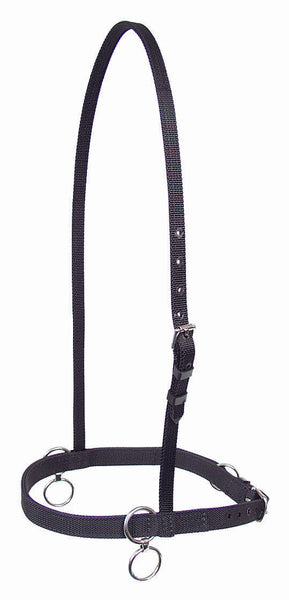 Double Ring Nylon Race Halter - 1365