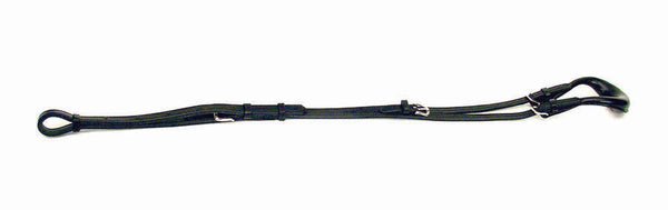 Leather Backstrap with Detachable Crupper - 405B