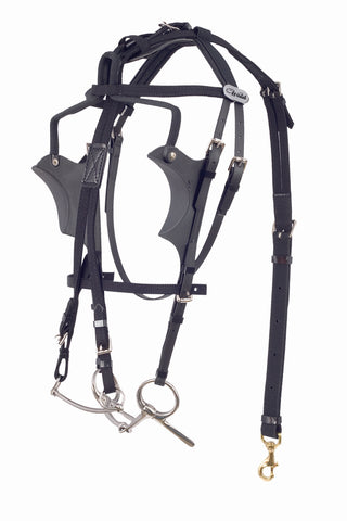 Kant See Back Bridle - US Style - 1340-PCN