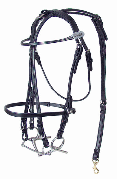 International Leather Open Bridle - 726