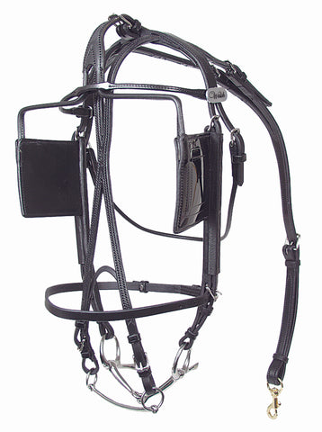 International Leather Blind Bridle - 701