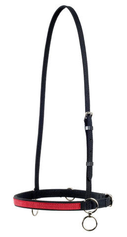 Two Tone Nylon Race Halter - 11365
