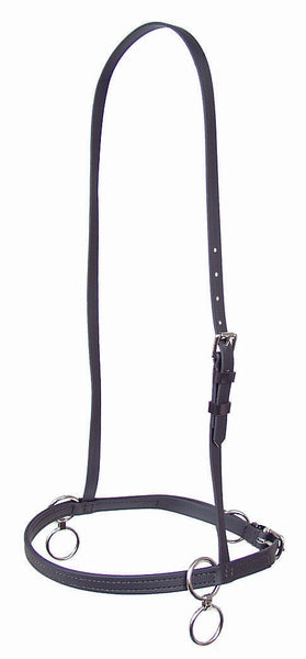 Double Ring Beta Race Halter - 1365-BETA