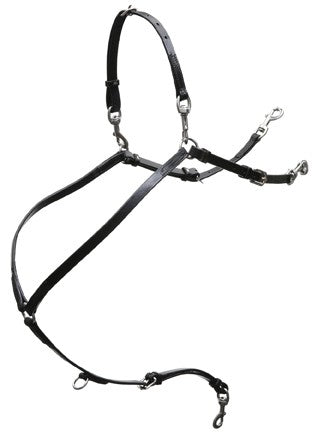 Leather Buxton Breast Collar - 899
